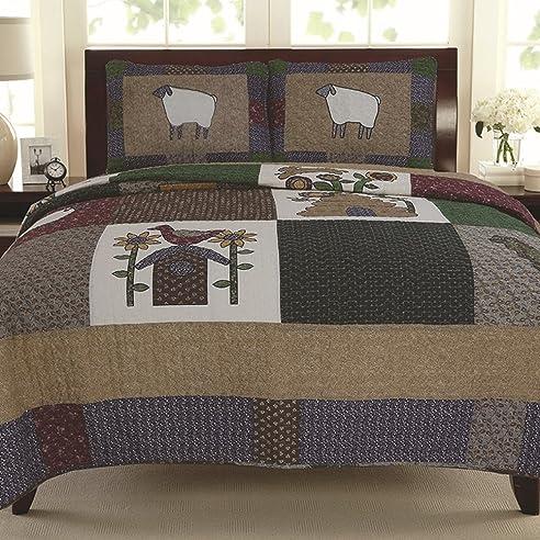fendie® baumwolle schlafzimmer tagesdecke bettüberwurf bettdecke ... - Patchwork Tagesdecke Bettuberwurf Schlafzimmer