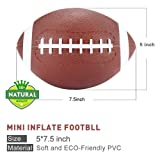 Stylife® Mini Inflatable Football 7.5Inch
