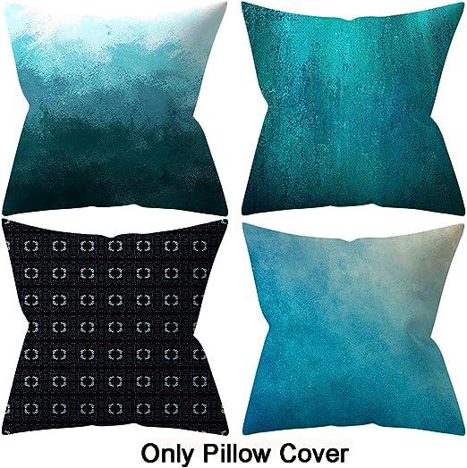 "18/"" Cotton Linen Sea Declaration Pillow Cases Throw Cushion Cover Pillow Cover"