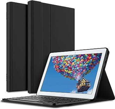 Amazon.com: ELTD - Funda con teclado para Huawei MediaPad M5 ...