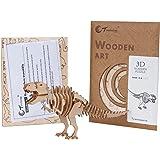 TORCH 3D Wood Puzzle Wooden DIY Children Gift Collection (Dinosaur)