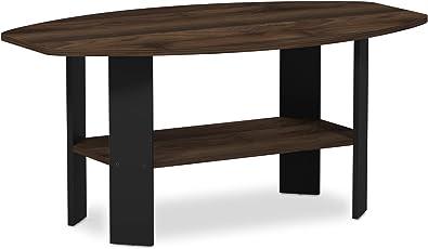 Furinno 11179GYW/BK Simple Design Coffee Table