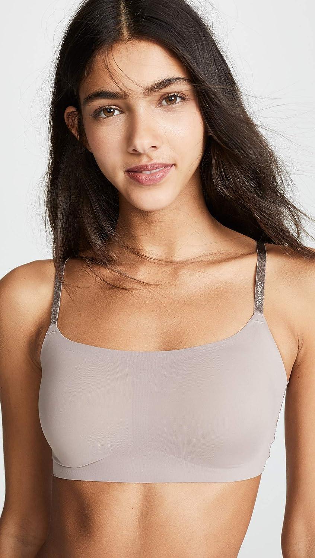 97d2cf68b58d72 Calvin Klein Underwear Women s Invisibles Adjustable Strap Bralette ...