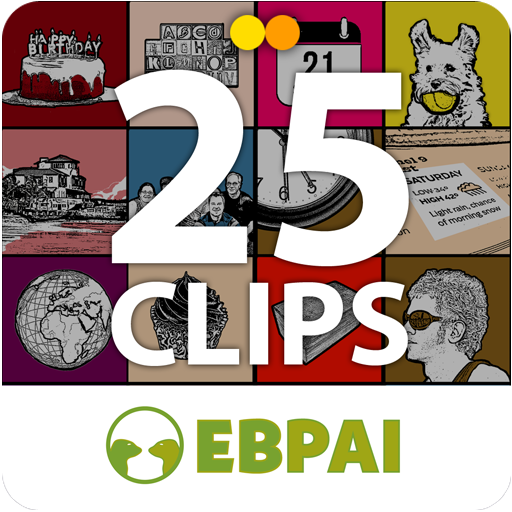 25 Clips para aprender Inglés from eBBi Books