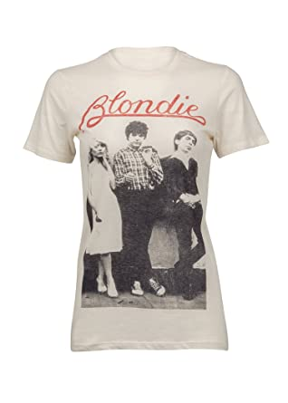 916aca705243 Goodie Two Sleeves Womens Blondie Rocker Band Music Tee T-Shirt – Size Small