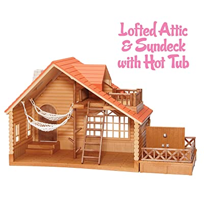 Calico Critters Lakeside Lodge: Toys & Games