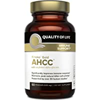 Premium Kinoko Gold AHCC Supplement–500mg of AHCC per Capsule–Supports Immune Health...