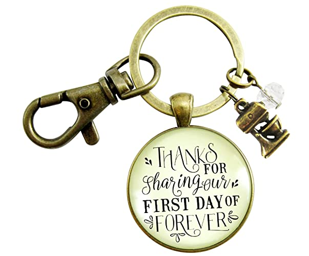 Amazon Wedding Cake Maker Gift Keychain Thanks For Sharing Our