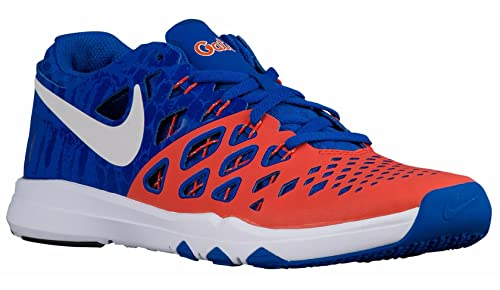 low priced 52ac0 3e861 Nike Mens Train Speed 4 University OrangeWhiteBlack Synthetic Cross-Trainers  Shoes 9.5 M US Buy Online at Low Prices in India - Amazon.in