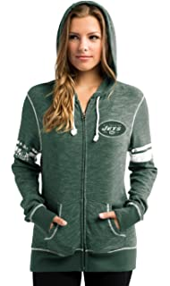 Amazon.com   Women s G-III 4Her by Carl Banks NFL Recovery Full Zip ... d9bd6b130