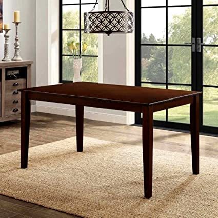 Amazon.com - Danish Style Dining Table, Rectangle Wooden ...