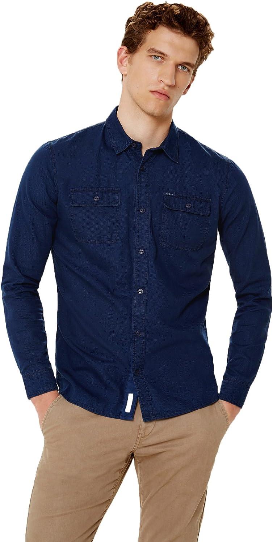 Pepe Jeans Lambeth, Camisa para hombre: Amazon.es: Ropa y ...