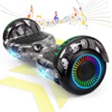 "FLYING-ANT Hoverboard Self Balancing Scooters 6.5"" Flash Two-Wheel Self Balancing Hoverboard with Bluetooth Speaker and…"