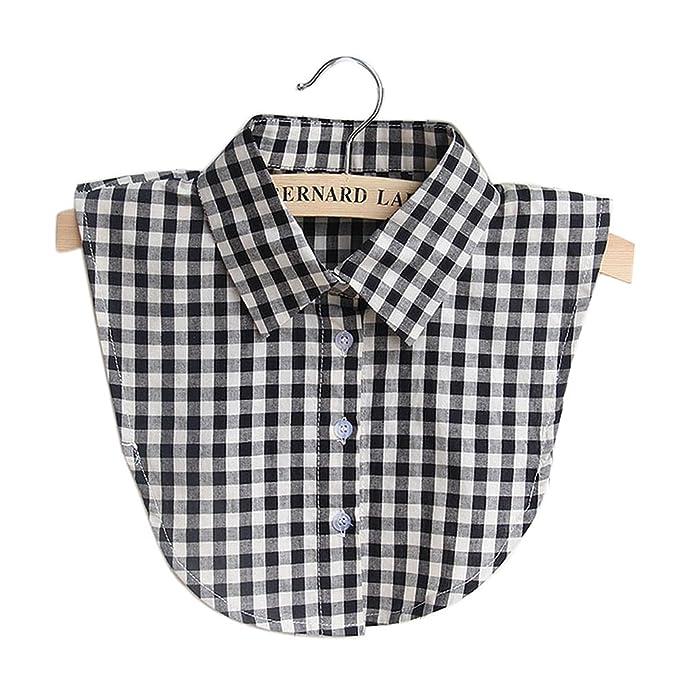 Women Lady Detachable Occupational Lapel Shirt Fake Neck Collar