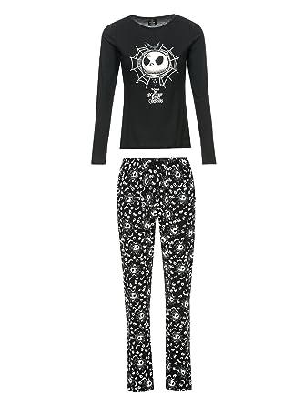 The Nightmare Before Christmas Shining Pyjamas black: Amazon.co.uk ...