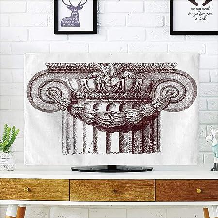 Cubierta para televisor LCD, adorable, decoración antigua, columna ...