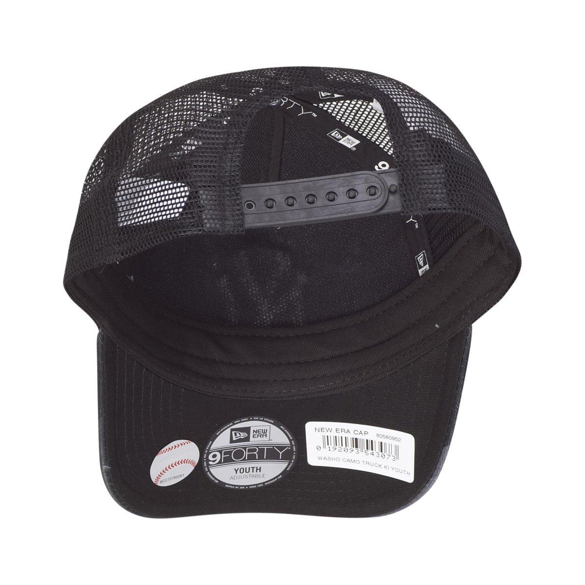 9a546f05a7a New Era Kids Trucker Cap - NY Yankees washed dark camo - Youth   Amazon.co.uk  Clothing
