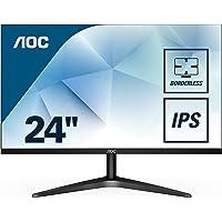 AOC 24B1XHS 60,4 cm (24 Zoll) Monitor (VGA, HDMI, IPS Panel, 1920x1080, 60Hz, 5 ms Reaktionszeit) schwarz