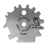 Deals on The Sage Owl Stainless Steel Grill Scraper S4480