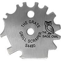 The Sage Owl Stainless Steel BBQ Grill Scraper