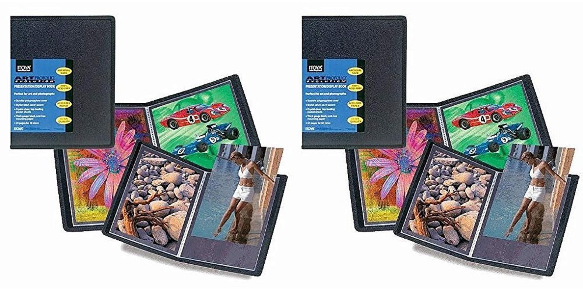 Itoya Art Profolio Evolution Presentation & Display Book Bundle (18x24'')
