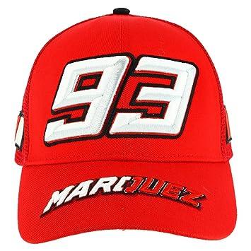 Pritelli 1843001 Gorra de béisbol de Marc Márquez Trucker 93: Amazon.es: Coche y moto