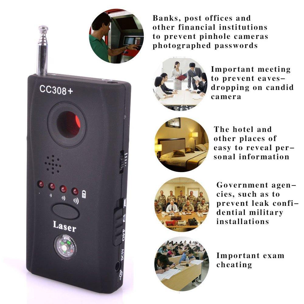Detector de movimiento, antiespí as, señ al por radiofrecuencia, GSM Soondar