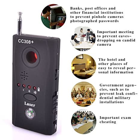 Anti-Spy Signal RF Bug Hidden Detector Camera Lens GSM Device Tracer Finder UK: Amazon.co.uk: DIY & Tools