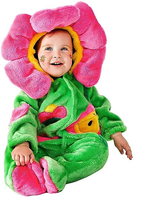 COSTUME di CARNEVALE da DOLCE FIORELLINO vestito per neonato bambino 3-12  Mesi travestimento veneziano 63bca652594c