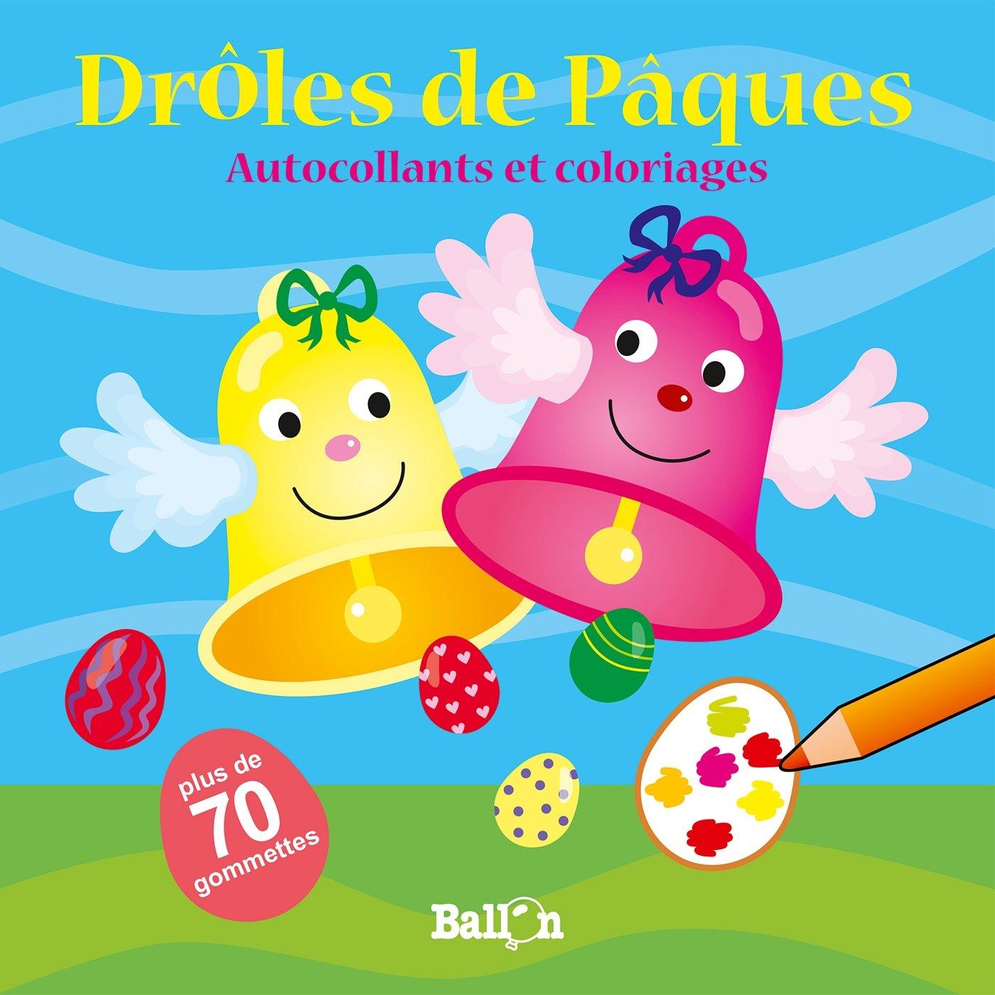 Droles De Paques Amazon Fr Ballon Livres