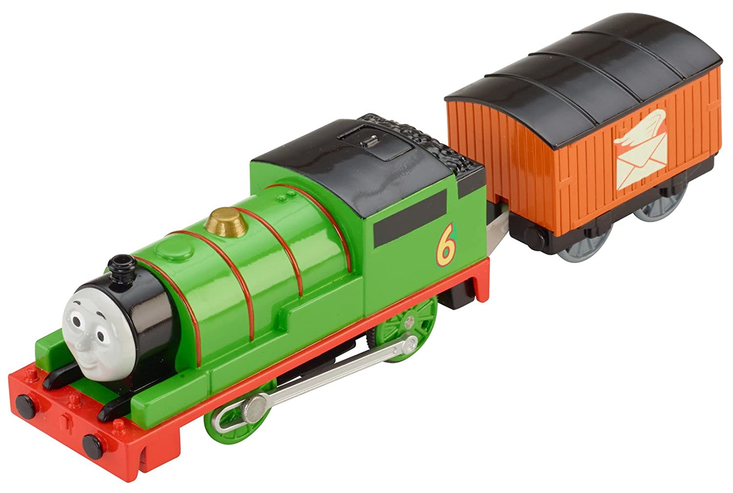 Amazon.com: Fisher Price Thomas U0026 Friends TrackMaster, Talking Percy: Toys  U0026 Games