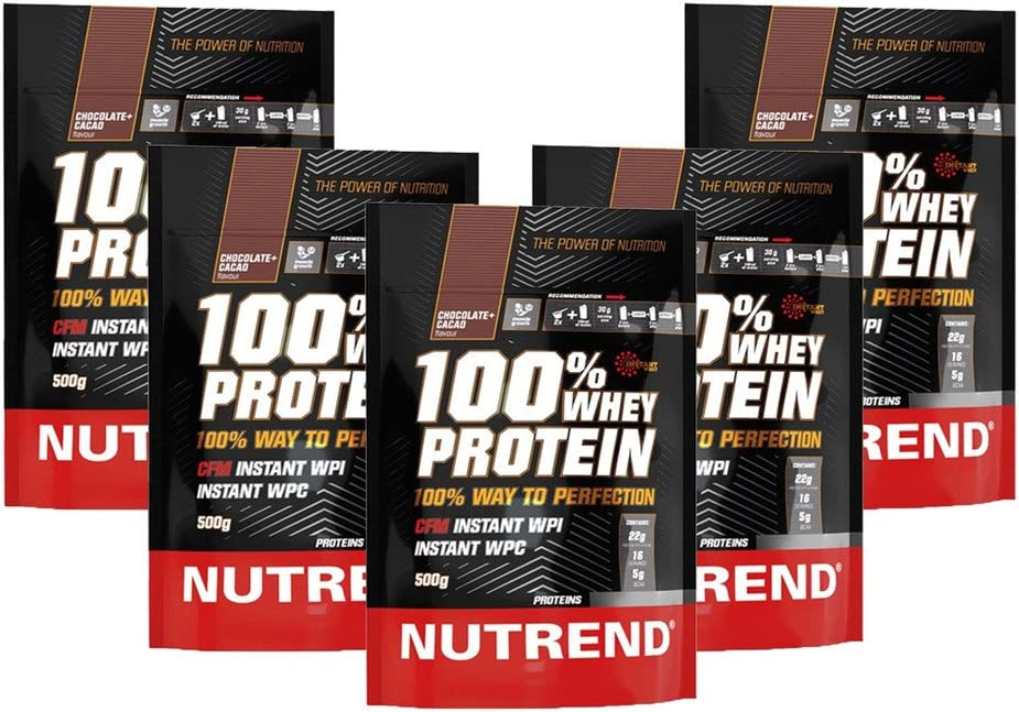 Whey Protein Nutrend 100% Vanilla by Nutrend 500g perfect spectrum of amino acids with high biological value in this cutting-edge product.