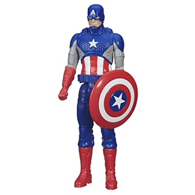 Marvel Titan Hero Series Captain America: Toys & Games