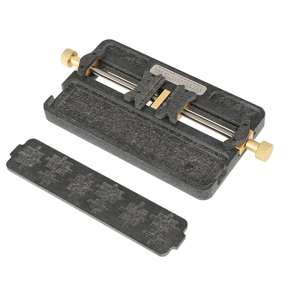 PCB Holder,1pc Fixture IC Chip Soldering PCB Fixing Holder Phone Repair Clamping Tool for Mobile Phone,BGA Fix Repair Mold Board NAND by Walfront (Image #9)