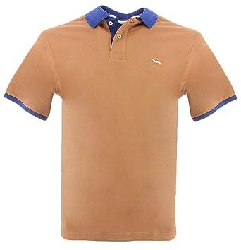d6d2ae9ae Harmont & Blaine Cotton Poloshirt XXXL Marrone at Amazon Men's ...