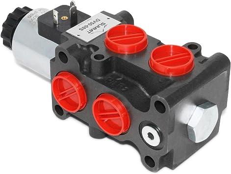 Amazon Com Hydraulic Solenoid Selector Diverter Valve 13 Gpm 12v Dc Home Improvement