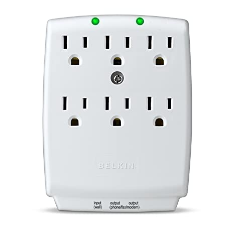 Review Belkin 6-Outlet SurgeMaster Wall-Mount