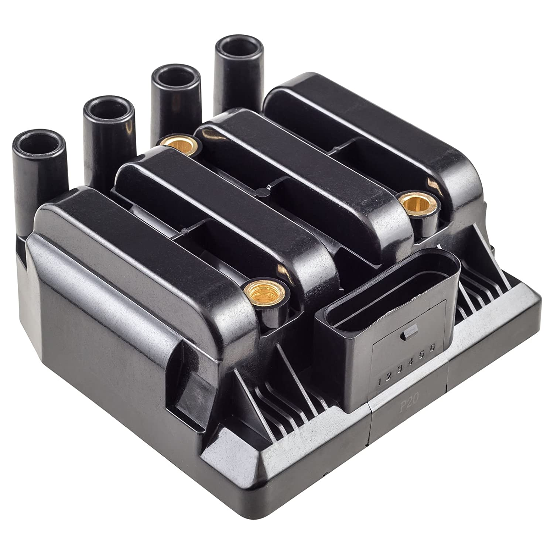 Amazon.com: Ignition Coil Pack for VW Jetta Golf Beetle 2.0L L4 fits UF-484  / UF484 / 06A905097 / C1393: Automotive