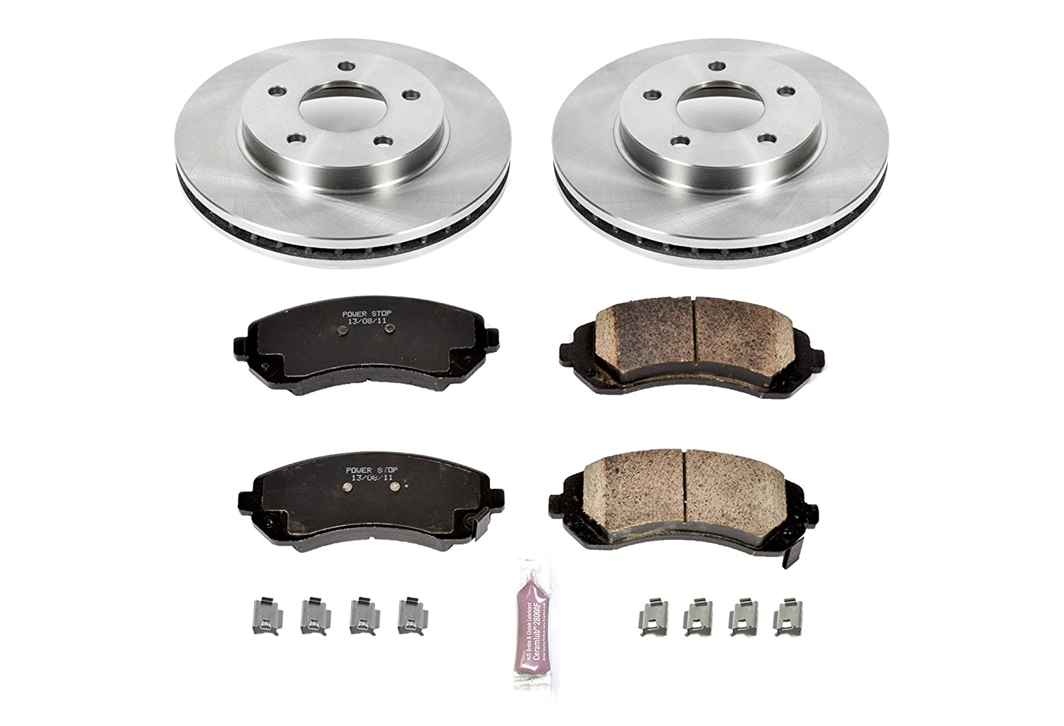 Autospecialty KOE5233 1-Click OE Replacement Brake Kit