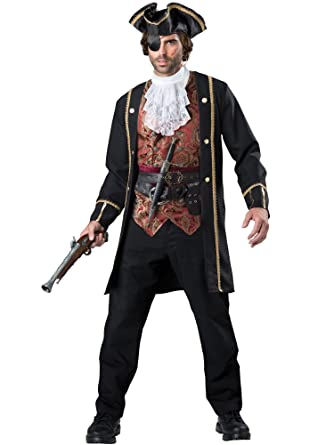 Amazon.com InCharacter Menu0027s Decadent Pirate Captain Costume Menu0027s Pirate Costume Clothing  sc 1 st  Amazon.com & Amazon.com: InCharacter Menu0027s Decadent Pirate Captain Costume Menu0027s ...