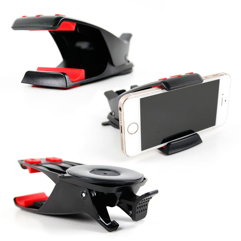DURAGADGET FANTÁSTICO Montaje/Soporte Salpicadero Coche para Navegadores GPS/Smartphones/Phablets/Mini Tablets: Amazon.es: Electrónica