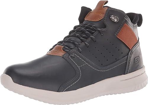 Skechers Herren Delson Ortego Sneaker, Medium