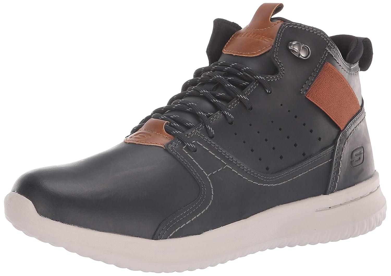 Skechers Delson-Ortego, scarpe da ginnastica Uomo Nero (nero Blk) | Vinci l'elogio dei clienti  | Maschio/Ragazze Scarpa