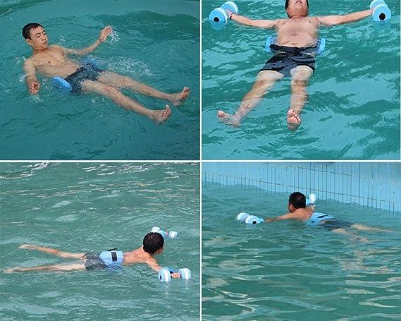 DSGYZQ Ejercicio de Deporte acuático Mancuerna Ejercicio con Pesas ...