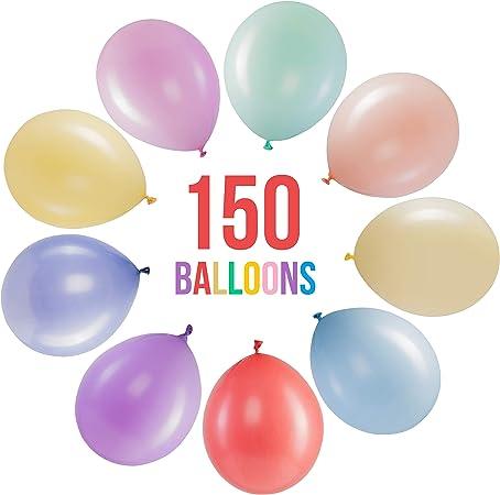 Pack 20 Grand Parti Ballons Assortis Couleurs Formes Hélium Qualité Anniversaire Amusant