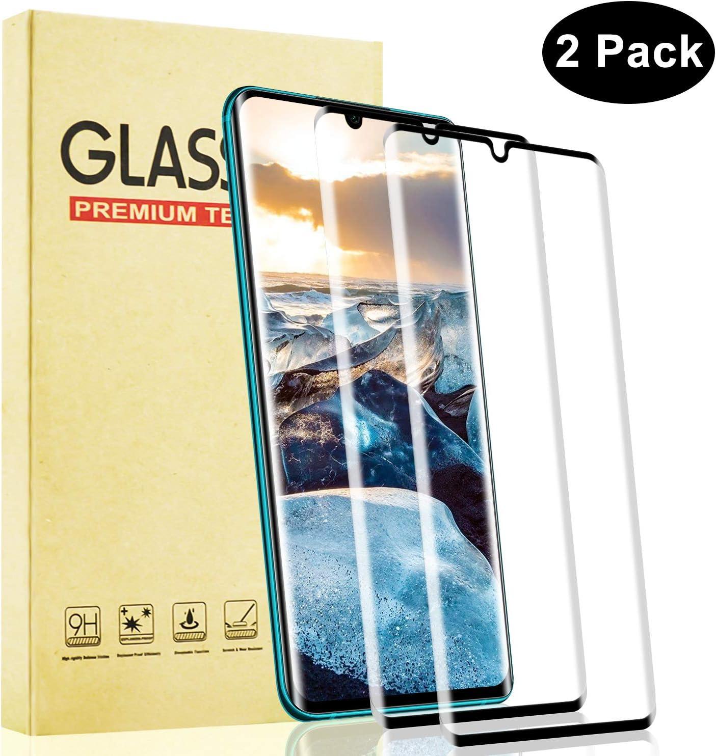 Lixuve Cristal Templado para Xiaomi Mi Note 10, Cobertura Toda Protector de Pantalla de Vidrio Templado, 9H Dureza, Alta Claridad, Fácil Instalación, 2 Unidades