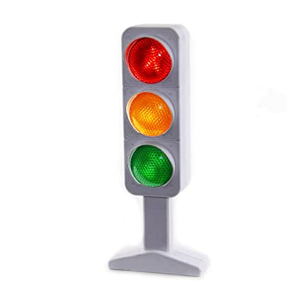 Dazzling Toys Flashing Traffic Light Lamp 7u0026quot;   3 Randomly Flash ...