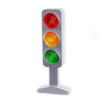 Great Dazzling Toys Flashing Traffic Light Lamp 7u0026quot;   3 Randomly Flash ...