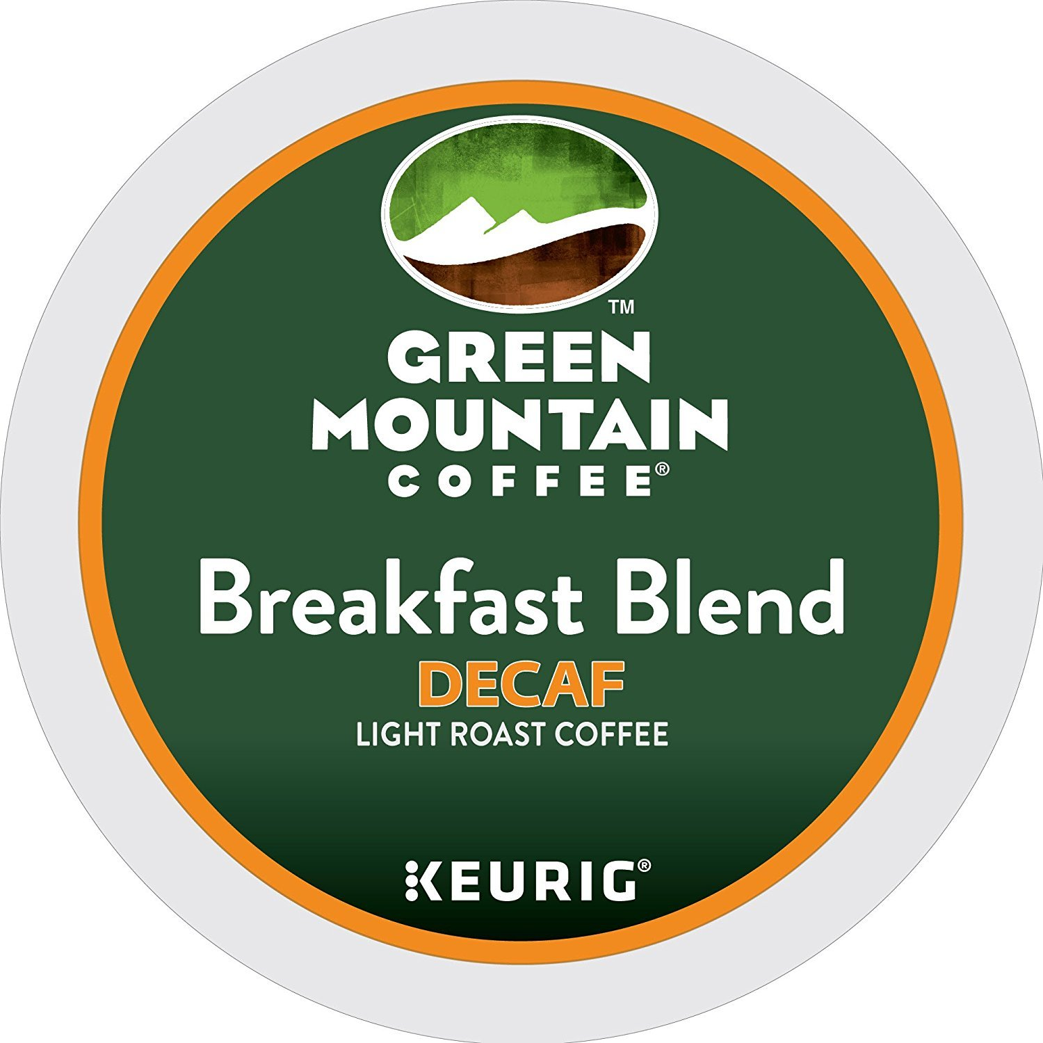 Green Mountain Coffee Breakfast Blend Decaf Keurig Single-Serve K-Cup Pods, Light Roast Coffee (Breakfast Blend Decaf, 100 Count) by Green Mountain Coffee