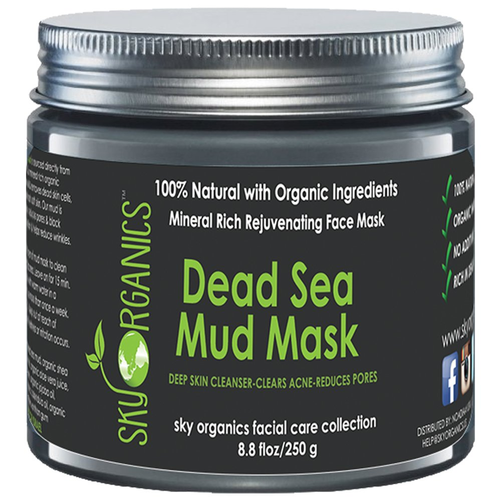 Tree Hut Skin Care Exfoliating Mud Mask With Detoxifying: 5 Best Dead Sea Mud Masks
